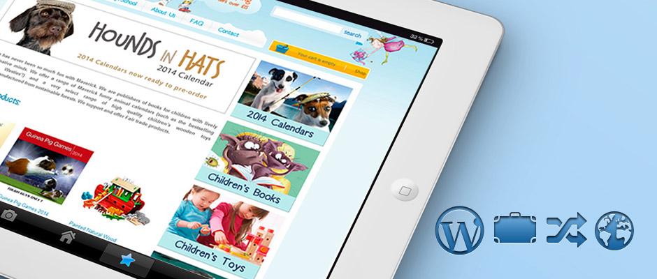 Maverick WordPress Website on iPad | Knowledge Constructs