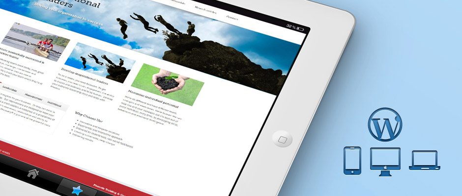 Phoenix Training & Coaching Mobile WordPress Website | Knowledge Constructs